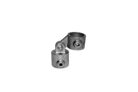 TC 172 - Half Swivel Combined Tubeclamp Maleable Cast