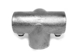 TC 177 - Side Outlet Tee TubeClamp Fitting by Solid Dynamics Australia