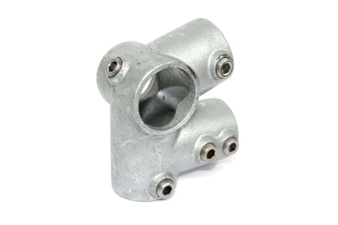 TC 185 - Eaves Tee TubeClamp Fitting by Solid Dynamics Australia