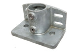 TC 247 - Base Flange Toeboard Tubeclamp Maleable Cast