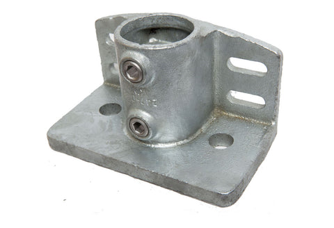 247 - Base Flange with Toeboard Galvanized Pipe Fitting