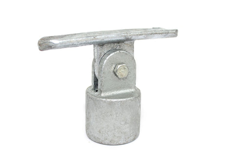 TC 755 - Swivel Saddle Bracket TubeClamp Fitting by Solid Dynamics Australia