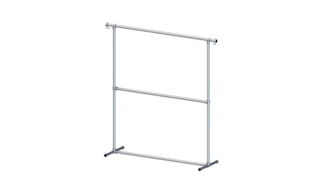 "900.2 ""Bambii"" Single Clothes Rack 25NB 1.8m high x 1.5m long"