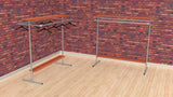 "TC 905.1 ""Jack & Daniel"" Double Clothes Rack 1.5m high x 1.5m long TubeClamp Fitting by Solid Dynamics Australia"