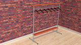 "TC 907.1 - ""Brent-ford"" Clothes Rack 1.5m x 1.5m long Tubeclamp Maleable Cast"