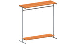 "TC 907.3 ""Hensley"" Clothes Rack 1.5m x 1.5m long Tubeclamp Maleable Cast"