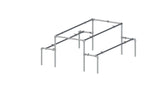 TC 957 - Picnic Table 02 TubeClamp Fitting by Solid Dynamics Australia