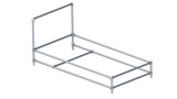 TC 964 - Industrial Pipe Furniture Patio Sunbathe Chair Frame TubeClamp Fitting by Solid Dynamics Australia