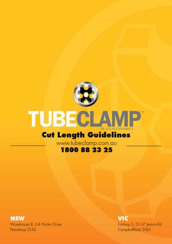 TC Cut Length Guidelines Tubeclamp Maleable Cast