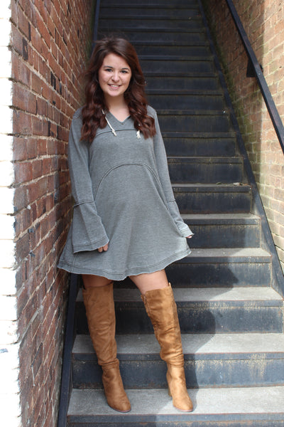 Cozy Down Dress