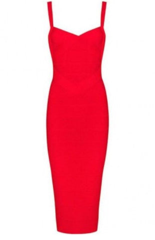 Susan Valentines Red Bandage Dress