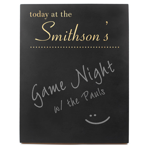 Custom Designer Chalkboard Sign
