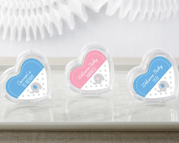 Heart Favor Container - Little Peanut (Set of 12)