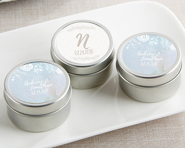 Personalized Travel Candle - Ethereal