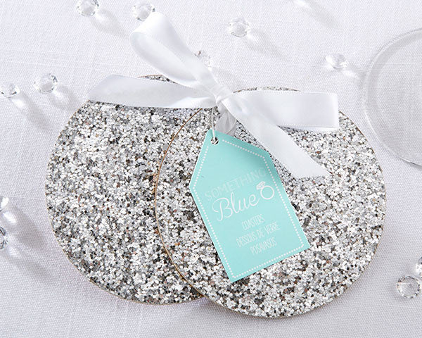 Silver Sparkle Coasters