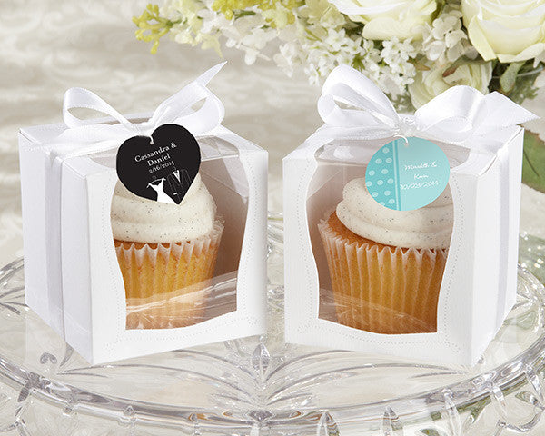 """Sweetness & Light"" Cupcake Boxes (Set of 12)"