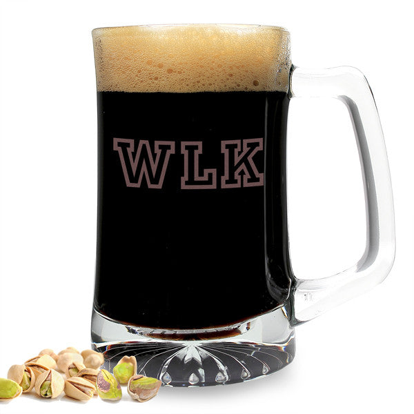 Personalized 25 oz. Sports Beer Mug