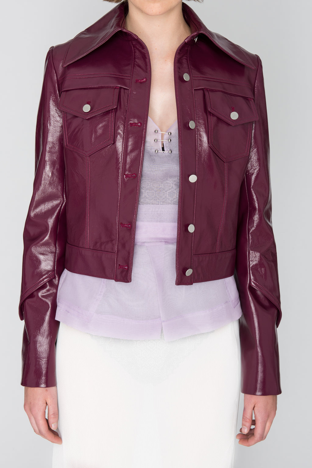 """Isa"" Leather Jacket"
