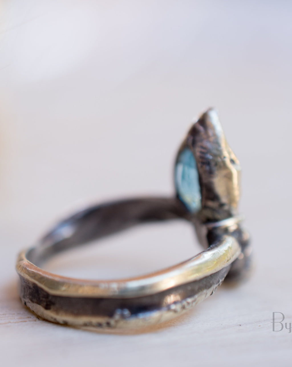 Banu Ring * Blue Topaz * Sterling Silver 925 * SBJR009