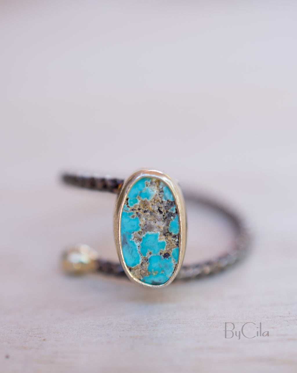 Ceyda Ring * Turquoise * Sterling Silver 925 *