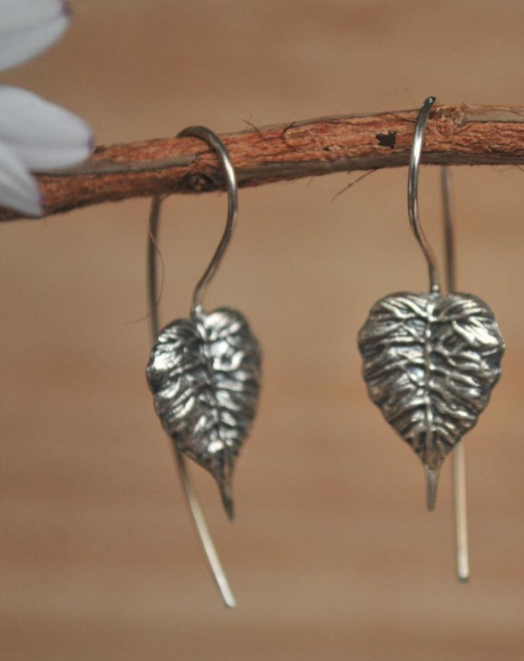 Leaf Earrings * Sterling silver * BJE032