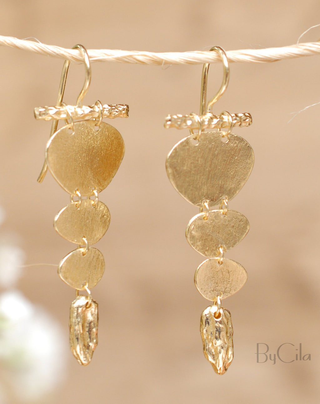 Nicole Earrings * Gold Plated 18k * BJE148