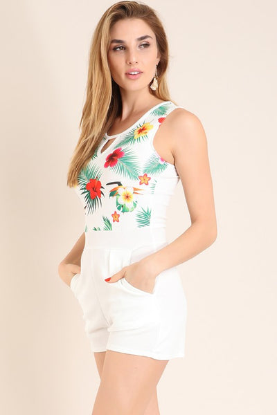 Alexis Tropical Romper
