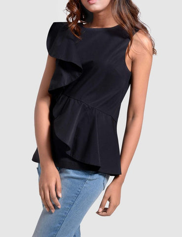 Samantha Black Blouse