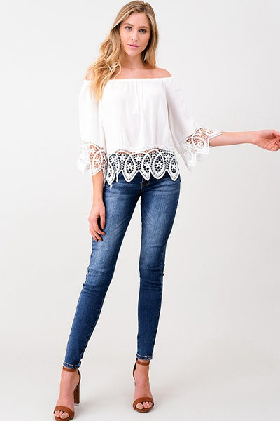 Tabitha Boho Top