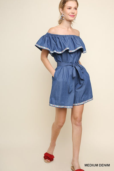 Mia Denim Dress