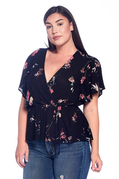 Lily Curvy Top