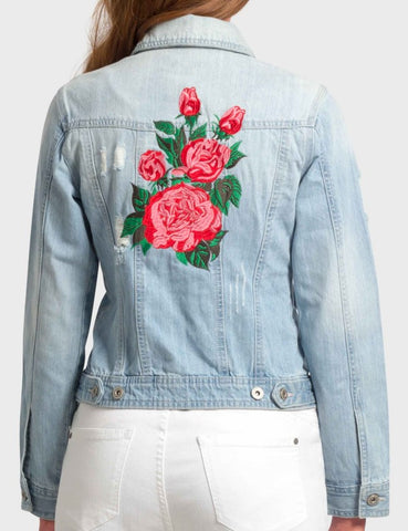 Aria Embroidered Jacket