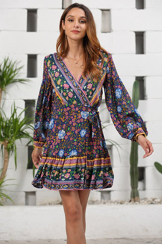 Sarina Wrap Dress