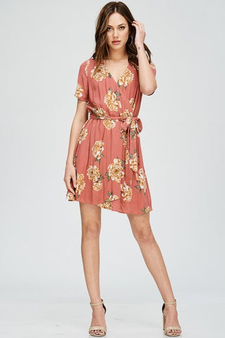 Carey Wrap Dress