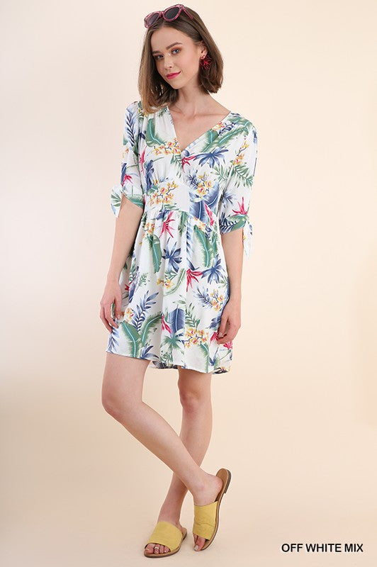 Clarisa Tropical Dress