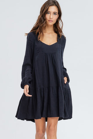 Allison Peasant Dress
