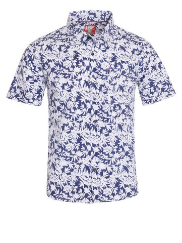 Men's Tiki Floral Shirt