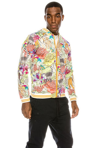 Men's Tropical Bomber Jacket