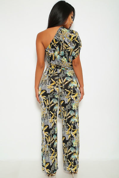 Trina Tropical Jumpsuit