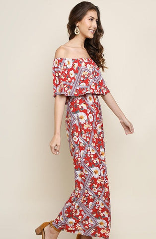 Roxanne Floral Maxi Dress