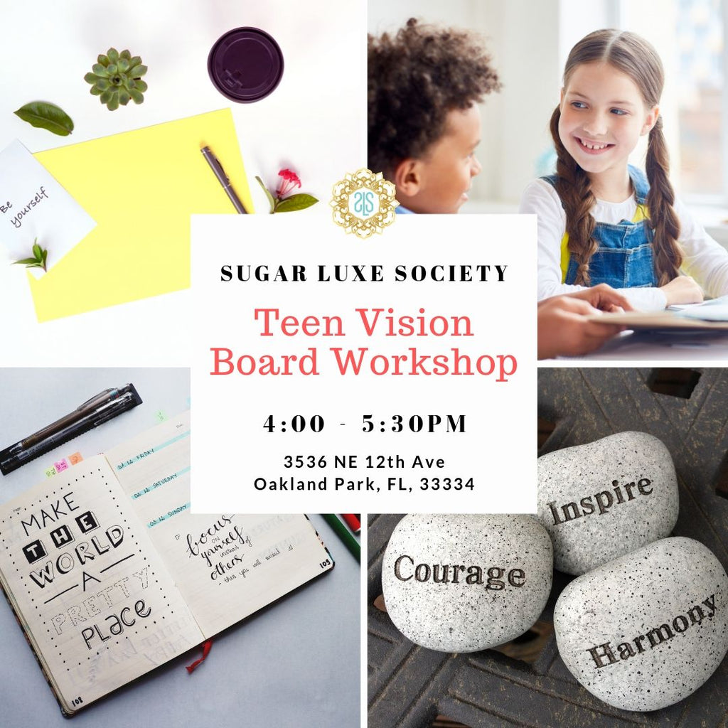 Teen Vision Board Workshop