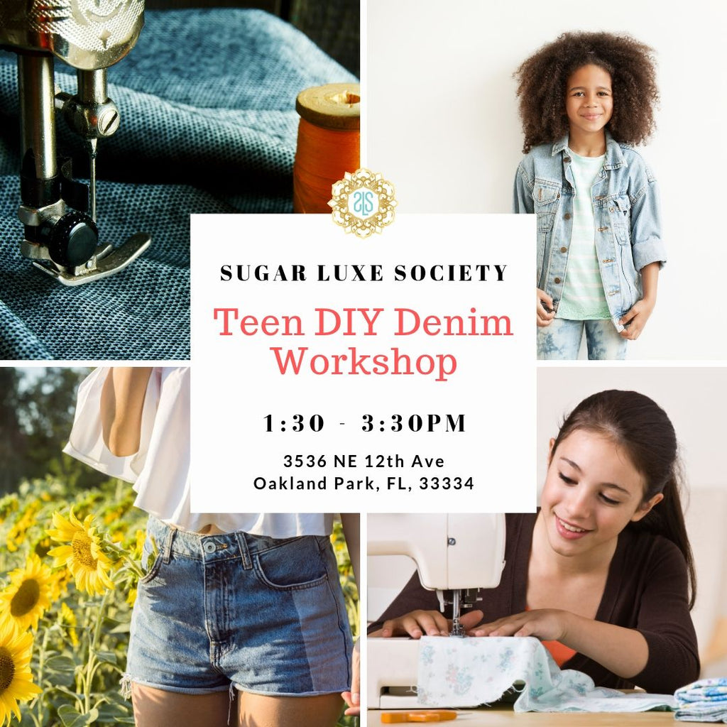 Teen DIY Denim Workshop
