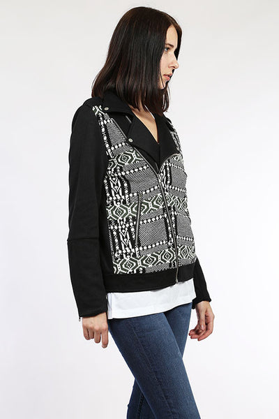 Tribal Moto Jacket