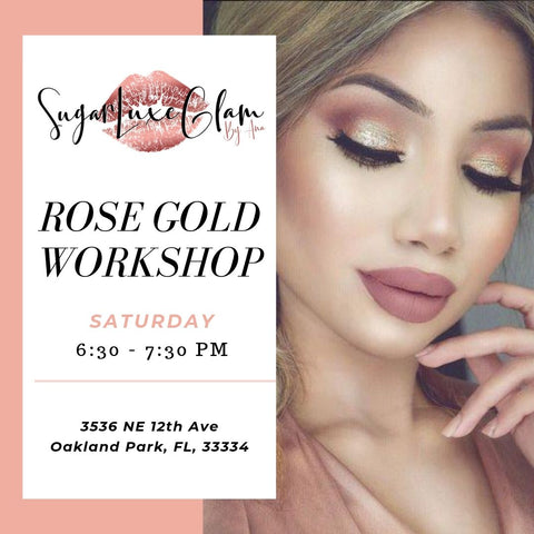 Rose Gold Goddess Workshop