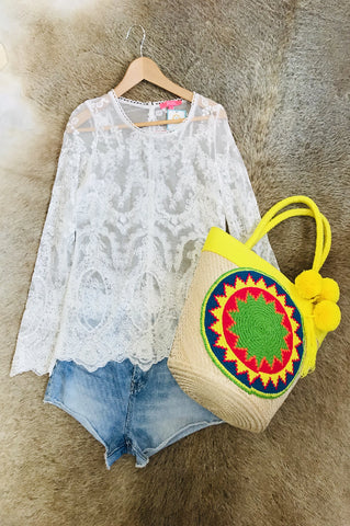 Daisy Colombian Bucket Bag