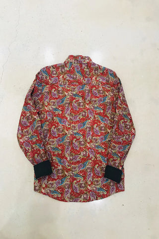 Men's Red Paisley Shirt