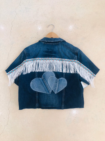 Heart2Heart Custom Denim Jacket