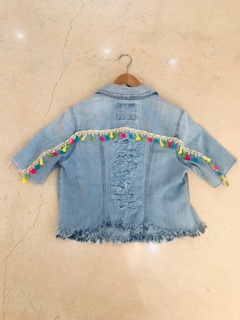 Tassel Custom Denim Jacket