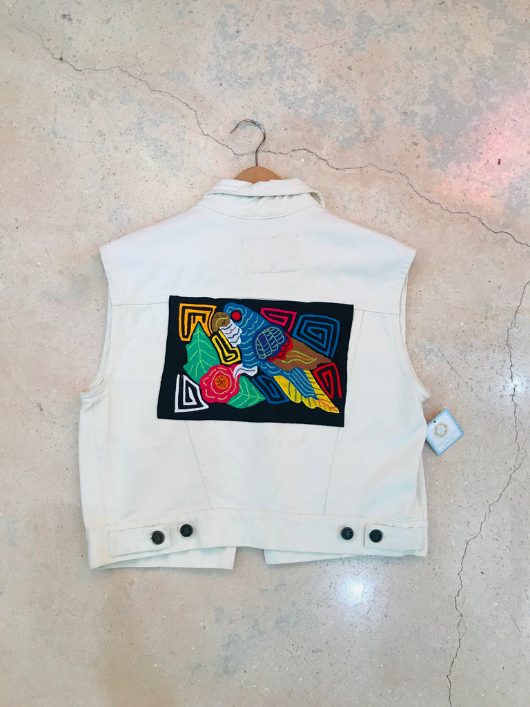 Custom Denim Vest