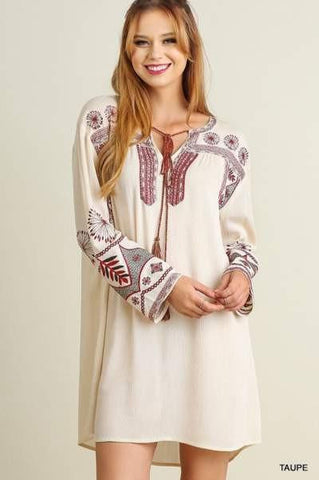 Serendipity Embroidered Dress